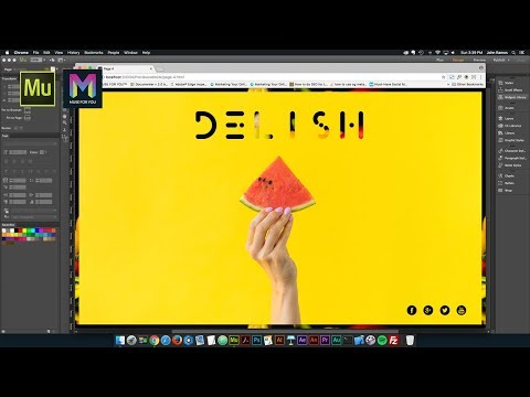 Creative Ideas for your Adobe Muse Website | Adobe Muse CC | Muse For You