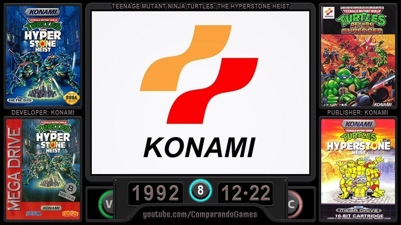 Sega Genesis Evolution Of All Konami Games Youtube