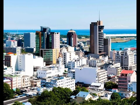 Port Louis is the capital of Mauritius, harbor,botanic garden, waterfront, tourism industry