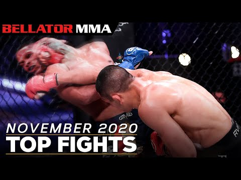 TOP FIGHTS AND FINISHES - NOVEMBER 2020 | Bellator MMA