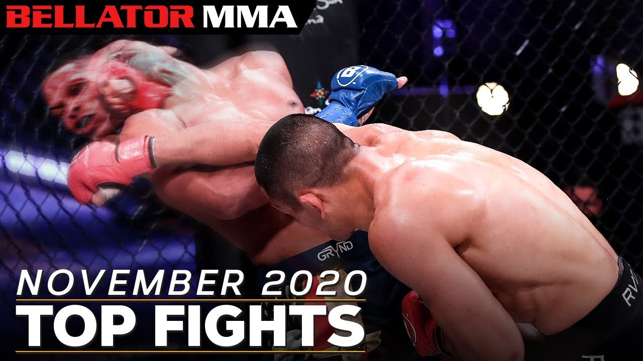 Top Fights And Finishes November 2020 Bellator Mma Youtube