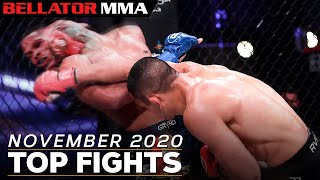 TOP FIGHTS AND FINISHES - NOVEMBER 2020   Bellator MMA