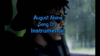 august alsina song cry instrumental
