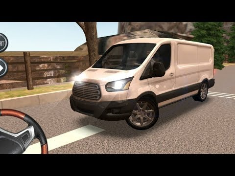 FordTransit Driving School 2016, FordTransit with Steering Wheel, Car Driving Games Mobile