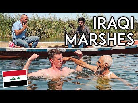 You Won't Believe This is IRAQ! Inside the Iraqi Marshes Travel Vlog الناصرية والاهوار العراقية