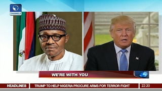 News@10: Assessing Impact Of Buhari, Trump Conversation On Nig-US Relations 13/02/17 Pt 1