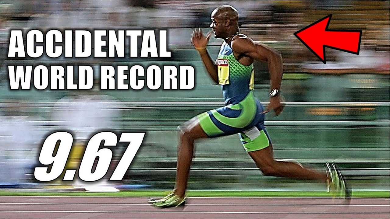 The Race That ALMOST Changed The 100 Meter Dash Forever || The Easiest World Record You'll Ever See