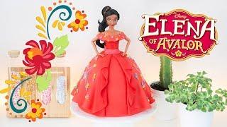 ELENA OF AVALOR 👑 DOLL CAKE || TAN DULCE