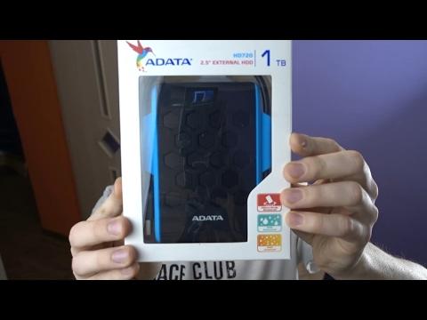Что такое внешний жесткий диск ADATA HD720?