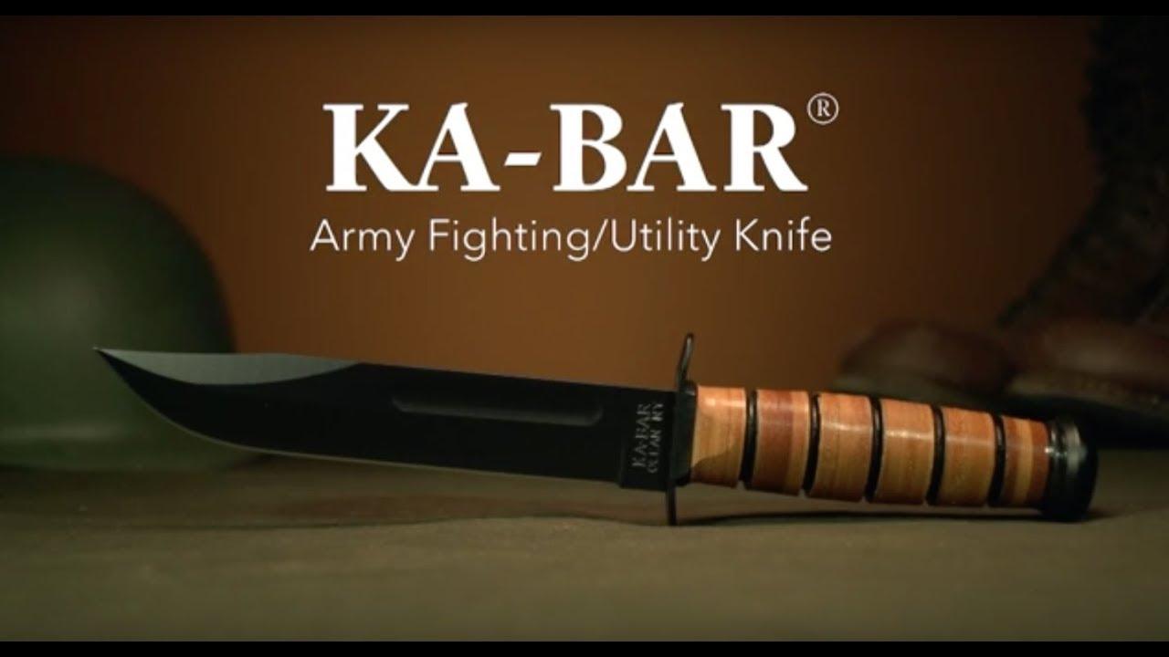 U S  ARMY KA-BAR®, Straight Edge