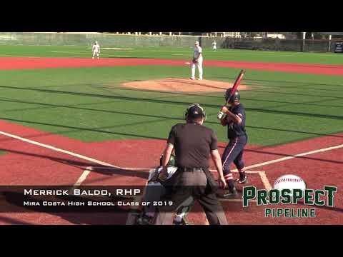 Merrick Baldo Prospect Video, RHP, Mira Costa High School Class of 2019