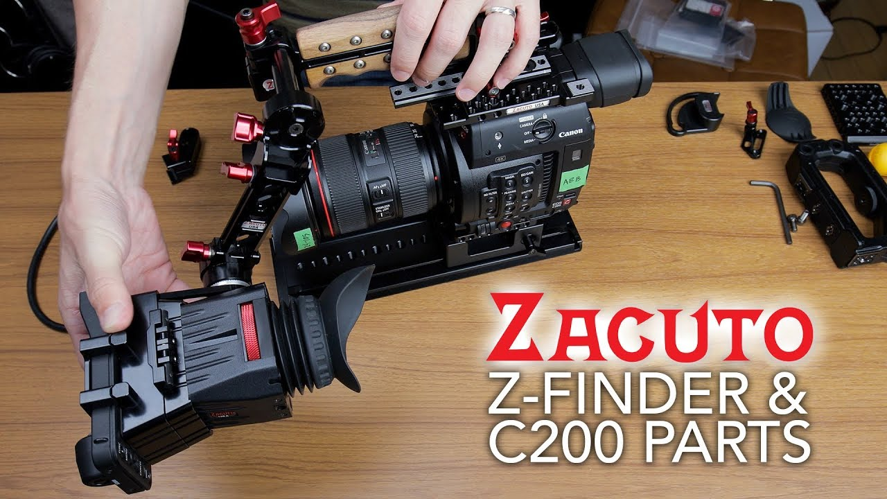 Zacuto C200 Z-Finder & Other Accessories In Depth (日本語の字幕付き)
