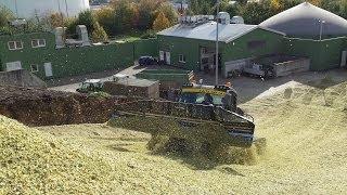 Biogasanlage Nordstemmen mit Pistenraupe und Radplaniergerät 2013 -500 Abonnenten-|HD