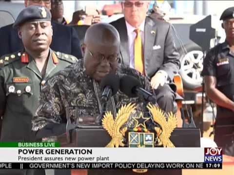 Power Generation - Business Live on JoyNews (28-4-17)