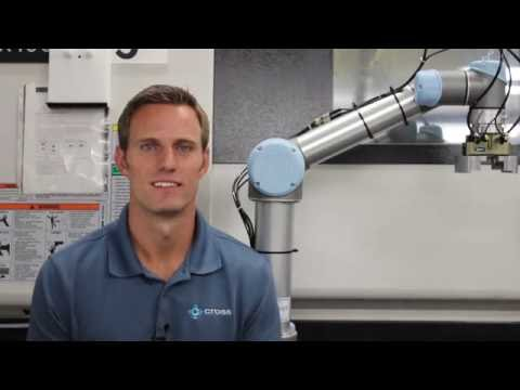 Using Collaborative Robots to Tend a CNC Machine