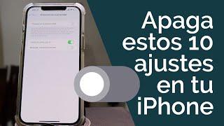 iOS 15  DESACTIVA ESTOS 10 AJUSTES EN TU IPHONE!