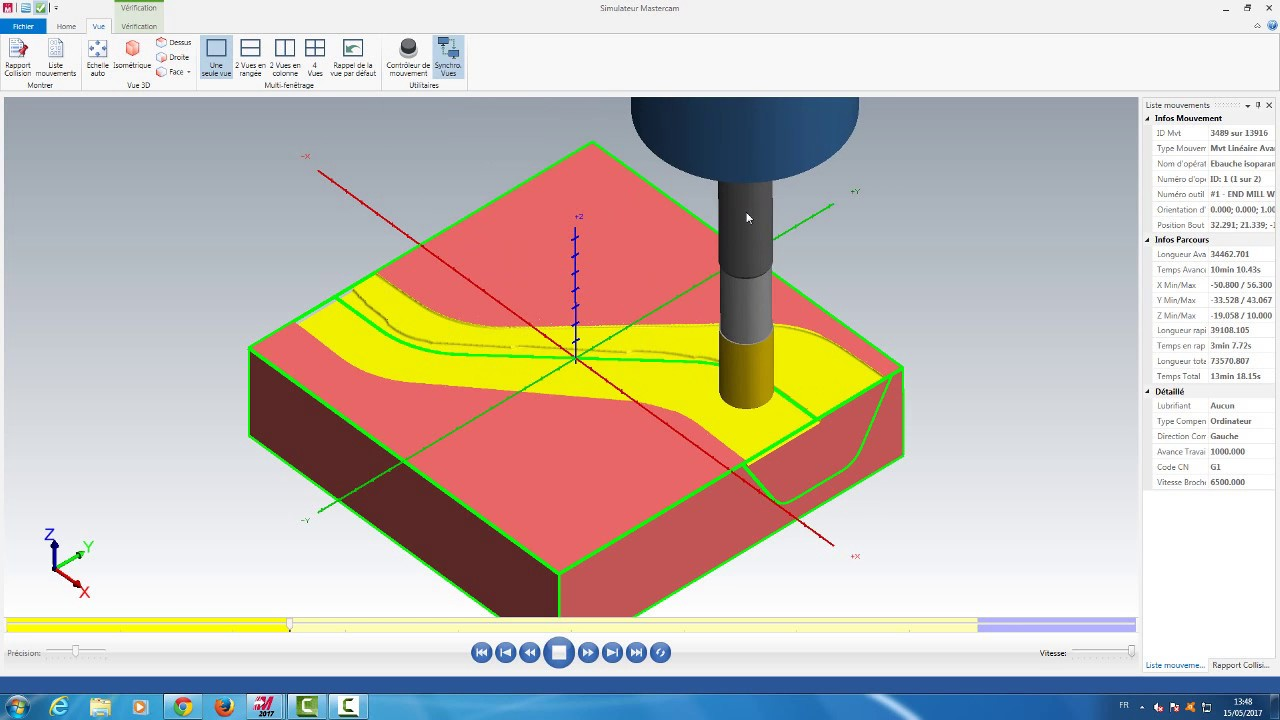 mastercam 2017 create surface curve and toolpath curve flowline rh youtube com Things Made in Mastercam Mastercam 9 Crack