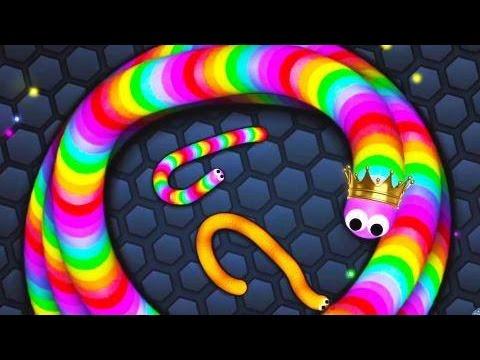 Slither.io MINHOCA IMORTAL (immortal worm ) #10 - TRUQUES PARA FICAR NO TOP01