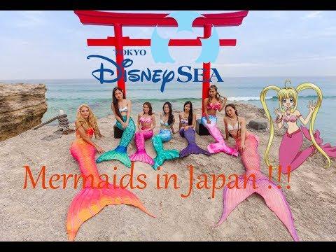 Claire la Sirene au Japon ! / Mermaiding in Japan !