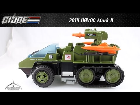 GI Joe Club Exclusive HAVOC Mark II Unboxing And Review
