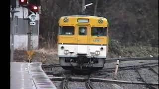 JR西日本 中国地方のカラフルな国鉄型気動車たち