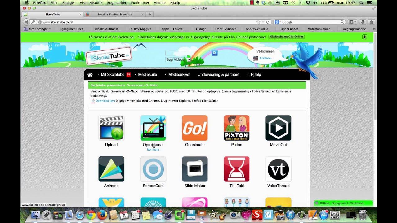Problemer med Screencast-O-Matic på Mac