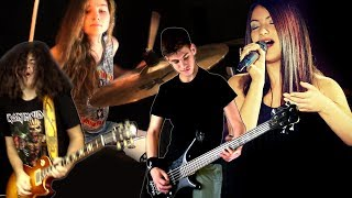 The Trooper - Iron Maiden; Cover by Sina, Max, Victoria & Andrei Cerbu