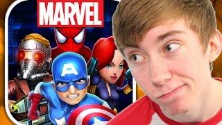 MARVEL MIGHTY HEROES (iPhone Gameplay Video)