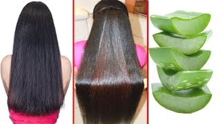 How To Grow Long and Thicken Hair Faster With Aloevera !! Super Fast Hair Growth Challenge!