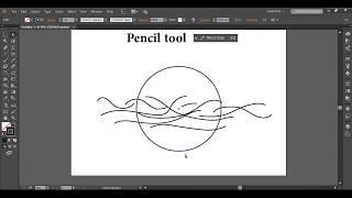 13.01.Pencil tool أداة الـ