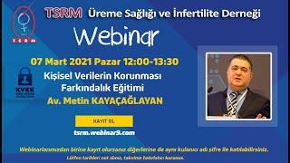 TSRM Kişisel Verilerin Korunması Farkındalık Eğitimi