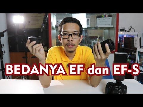 Perbedaan Lensa Canon EF Dan EF-S - Ini Penjelasan Lengkapnya