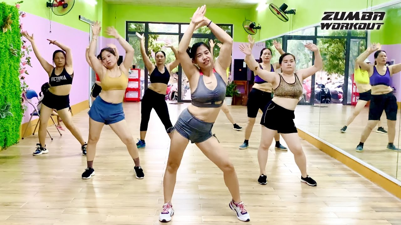 Flat Belly & Tight Booty by Aerobic Dance Workout l Zumba Workout