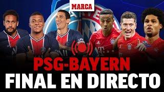 PSG - Bayern Munich, en directo: última hora en vivo I FINAL CHAMPIONS LEAGUE EN DIRECTO