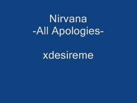 Nirvana All Apologies