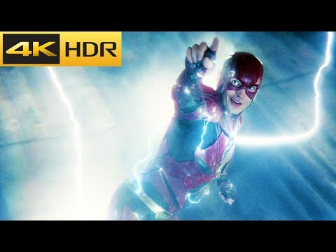The Tunnel Battle [Part 2] | Justice League 4k HDR
