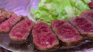 2018 沖繩 國際通 肉屋 A5和牛 石垣牛 ししや 公設市場の鉄板焼き屋さん OKINAWA JAPAN 4K