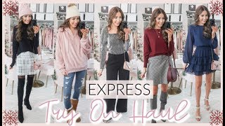 EXPRESS BLACK FRIDAY TRY ON HAUL 2019 | WINTER OUTFITS 2019