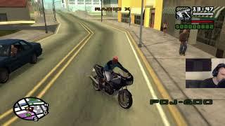 Grand Theft Auto: San Andreas HD playthrough pt30 - Assault on Grove Street!