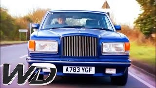 Mike Snaps Up A Bargain Bentley With Serious Bodywork Issues | Wheeler Dealers