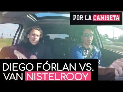 Diego Forlán cuenta cuando jugó tenis contra Van Nistelrooy y Ferguson apostó por él