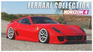 Forza Horizon 4 - Ferrari Collection Top Sounding Cars