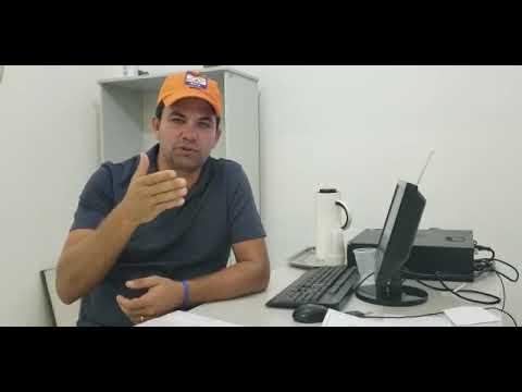 Marlo maiz explica sobre Barragem de Ponto Novo
