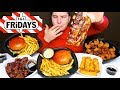 My First Time Trying Ribs • TGI Fridays Feast • MUKBANG