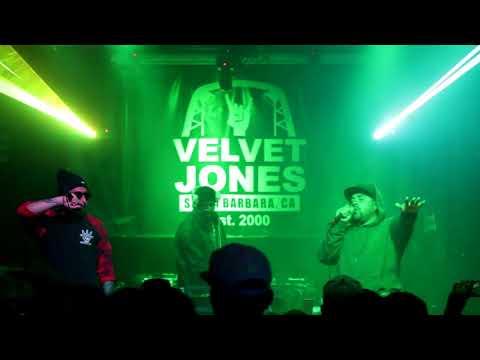 FABITO BUENO + ELEGAL BIZ LIVE at Velvet Jones 2018