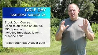 August 13 Announcements