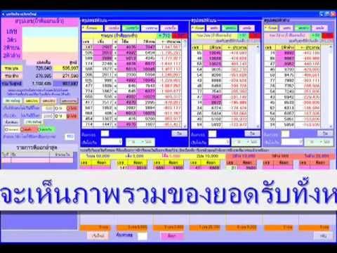 โปรแกรมเจ้ามือหวย www.LottoHiTech.com