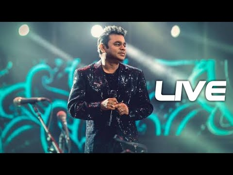 Thee Thee Song From Sivaji  Ar Rahman Singing Live