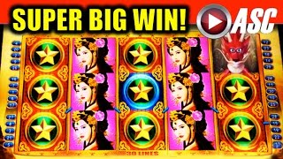 *SUPER BIG WIN!* DRAGON'S VOYAGE | MAX BET! Slot Machine Bonus (Konami)