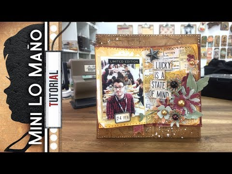 Mini LO Scrapbook